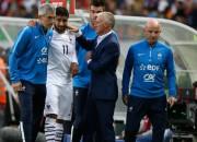 Francijas izlases uzbrucējam Fekiram krustenisko saišu plīsums