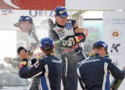 Korsikas WRC rallijā uzvar Latvala, čempionam Ožjē un VW 10 000 eiro liels naudas sods