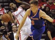 """Porziņģis un """"Knicks"""" otro reizi sezonā pret """"Rockets"""""""
