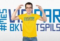 Vīriešu krekls (dzeltens)
