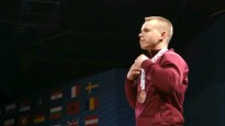 Suharevs iegūst Eiropas čempionāta raušanas bronzu