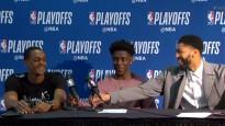 NBA jocīgākajos momentos arī mikrofona atdevēji