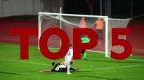 Latvijas kausa izcīņa futbolā: Astotdaļfinālu TOP5 vārtu guvumi