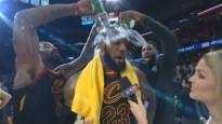 NBA sezonas labākie momenti interviju traucēšanā