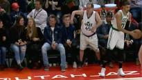 "NBA jocīgākajos momentos arī kustīgs ""Jazz"" fans"