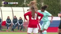 Mati pa gaisu: meiteņu futbolistes sakaujas U17 izlašu spēlē