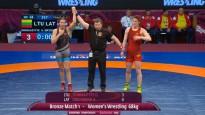 Grigorjeva atspēlējas un triumfē EČ bronzas finālā