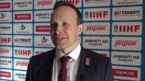 """Sorokins: """"Uzskatu, ka bijām labāki pār slovākiem visos spēles aspektos"""""""