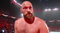 Fjūrijs atbrīvojas no apsargiem un uzbrūk varenajam WWE cīkstonim
