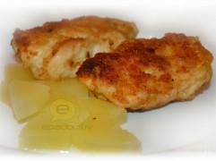 Fotorecepte: pildīta vistas fileja