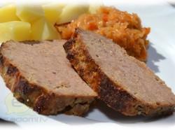 Fotorecepte: maltās gaļas klaipiņš