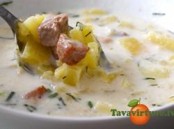 Fotorecepte: ķirbju zupa ar gaļu