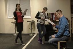 """Dramaturgu teātrī  """"Gaisma tualetē"""" būs jau martā"""