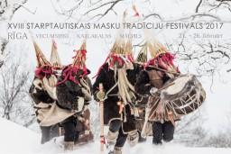 Nedēļas nogalē notiks XVIII Starptautiskais masku tradīciju festivāls