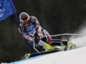 Zvejniekam 38. rezultāts slalomā, zelts - itālim Racoli