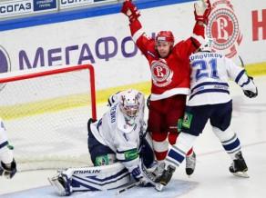 """""""Vityaz"""" Minskā šoreiz kaujas tikai laukumā"""