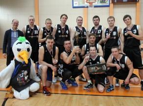 """""""Swedbank"""" basketbolisti trešo reizi pēc kārtas triumfē Banku kausā"""
