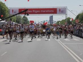 Rīgas skolēni gatavojas dalībai Nordea Rīgas maratonā
