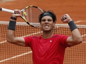 """Nadalam 50. uzvara """"Roland Garros"""" kortos, pusfinālā jāspēlē pret Fereru"""