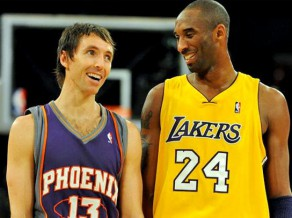 Big four jeb Lakers un Kobe, Bainums,Gasols un Nešs.