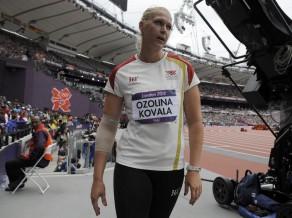"""Ozoliņa-Kovala: """"Šīs nebūs manas pēdējās olimpiskās spēles"""""""