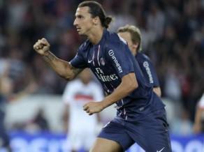 Ibrahimoviča divi vārti glābj PSG no šokējoša zaudējuma