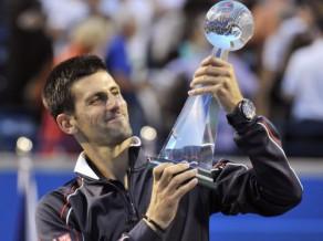 """Džokovičs sagrauj Gaskē, trešo reizi iegūst """"Rogers Cup"""""""