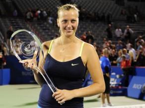 Kvitova Monreālā izcīna pirmo titulu 2012. gadā
