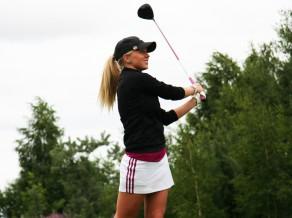 Golfere Puisīte izcīna 7.vietu un sasniedz sezonā labāko rezultātu