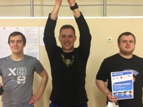 Rīgas čempions - pirmo reizi Smagars