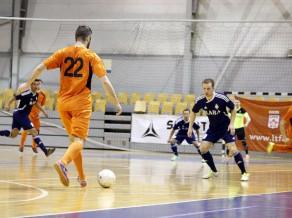 Noskaidroti Latvijas telpu futbola kausa izcīņas ceturtdaļfinālu pāri