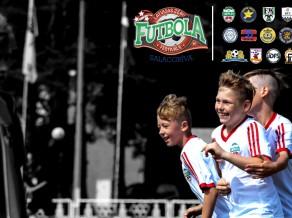 Zēnu futbola festivāls Salacgrīvā jūnija garumā pulcēs 54 komandas