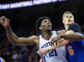 """Porziņģis pēdējās sekundēs netrāpa pa stīpu, """"Knicks"""" turpina grimt"""