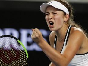 Ostapenko pārtrauc trīs zaudējumu sēriju WTA turnīros