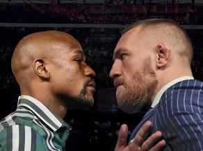 Gadsimta boksa cīņu starp Meivezeru un Makgregoru pārraidīs <i>Viaplay</i>