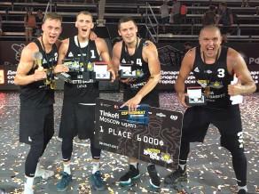 Latvijas 3x3 izlases basketbolisti izcīna ceļazīmi uz FIBA Pasaules tūres posmu