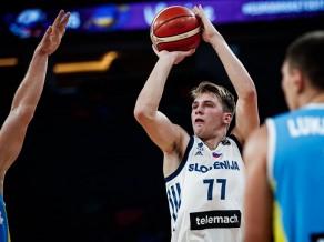 Slovēnija bez problēmām pieveic Ukrainu un iekļūst 1/4 finālā
