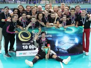 IKSU un IBF Falun kļūst par titulētākajiem Čempionu kausa turnīra klubiem (+video)