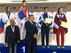 Jolanta Tarvida izcīna junioru EČ bronzas medaļu