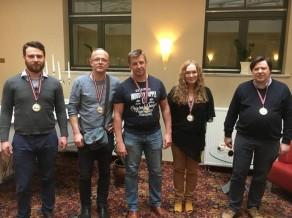 """Latvijas komandu čempionātā bridžā uzvar """"Ararat"""""""