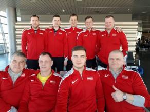 Latvijas sēdvolejbola izlase izcīna uzvaru pasaules čempionāta kvalifikācijas otrajā mačā