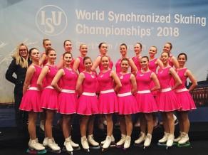 Latvijas sinhronajām daiļslidotājām 23. vieta pasaules čempionātā