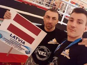 """Martinovskis starptautiskā kikboksa turnīrā WAKO """"Turkish Open"""" izcīna 2.vietu"""