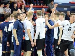 U20 volejbola izlase pārbaudes mačā pieveic Zviedriju
