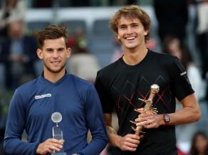 """Zverevs Madridē nav salaužams, iegūst jau trešo """"Masters"""" titulu"""