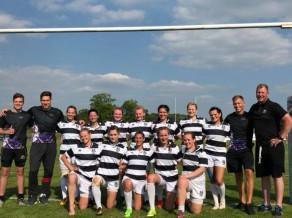 """Regbija kluba """"Livonia"""" dāmas izcīna otro vietu turnīrā Anglijā"""
