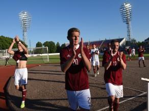 Latvija nenotur uzvaru, bet ceturto reizi pēc kārtas izcīna Baltijas kausu