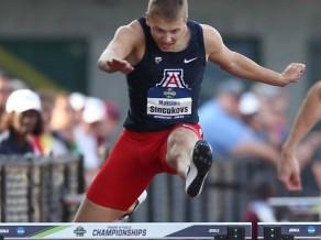 Pirmkursnieks Sinčukovs sasniedz NCAA finālu 400 metru barjerskrējienā