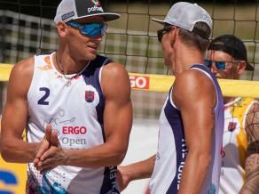 Saulkrastos nākamnedēļ startēs trīs pasaules pludmales volejbola elites dueti