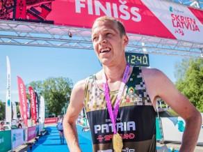 Bērziņš un Ažušele uzvar Ventspils Piedzīvojumu parka maratonā